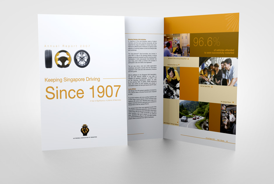Annual Report Automobile Association Of Singapore 2