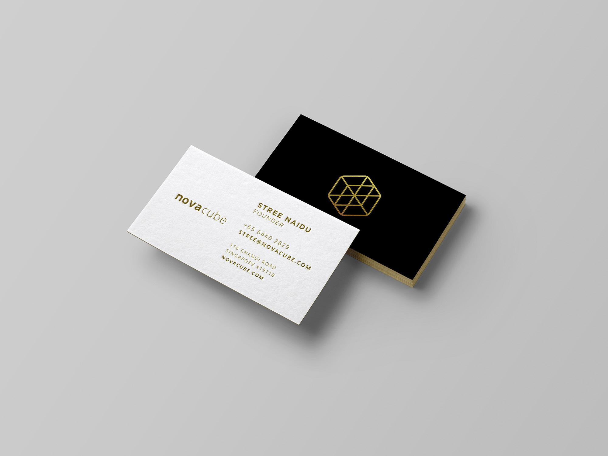 Novacube Branding 1